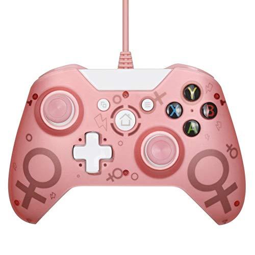 SIWEI Kabelgebundener Controller, Bluetooth-Spiel-Controller, USB-Controller für Xbox One PC-Spiele-Controller, Spiel-Joystick für PC Windows 7/8/10, Xbox One/Xbox One Slim