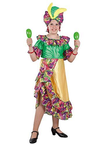 DISBACANAL Disfraz rumbera para niña - -, 12 años