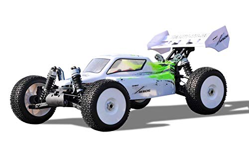 Amewi 22235, Fahrzeug, weiß/gelb Planet Pro 4WD Buggy RTR, 1:8, 2,4GHz