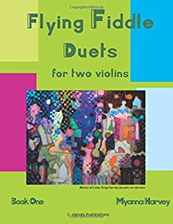 Flying Fiddle Duets for Two Violins, Book One