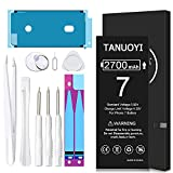 [2700mAh] Battery for iPhone 7 (2021 New Version), TANUOYI Ultra High Capacity A1660/A1778/A1779 Battery Replacement with Professional Replacement Tool Kits