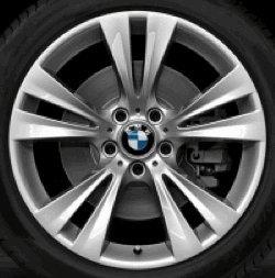 Jante en aluminium BMW X3 F25 double rayon 309 en 19\