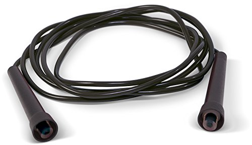 Paffen Sport FIT Color Rope – Kunststoff-Springseil, 275 cm, schwarz
