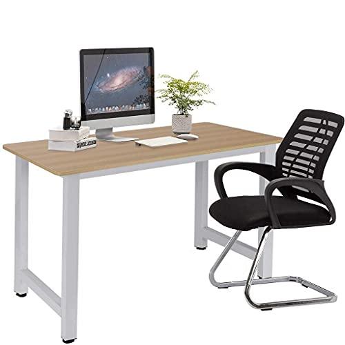 Gtracing Chair Gaming, eficiente escritorio para computadora de escritorio para el hogar con estantería, estilo industrial simplista, dormitorio, computadora portátil, mesa de estudio, mesa de oficin