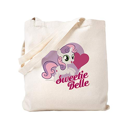CafePress My Little Pony Sweetie Belle Tragetasche, canvas, khaki, S