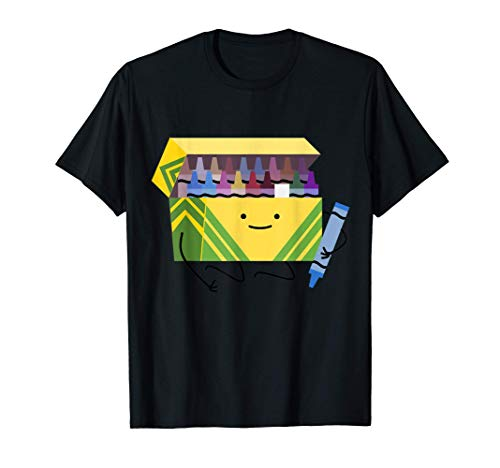 Funny Good Boys Crayon Box Smile Teacher Gift T-Shirt