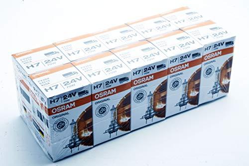 10x OSRAM H7 24V 70W PX26d 64215 ORIGINAL LINE LKW Bus Halogen Lampe Glühbirne Glühlampe