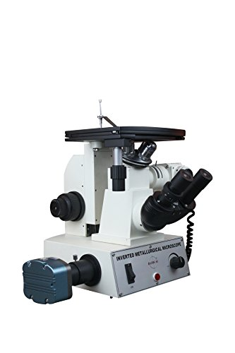 Radical 40-600x Inverted Metallurgical Metallography Material Science Reflected Light Microscope with 1.3Mega Pixel Camera