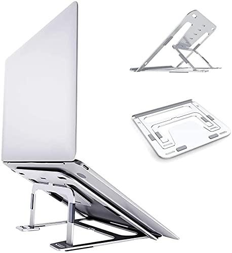 NKTJFUR Supporto per Laptop Regolabile con Supporto per Laptop, Supporto per Computer Portatile Portatile Portatile Portatile, per Notebook/MacBook/Tablet/iPad, con Design Antiscivolo