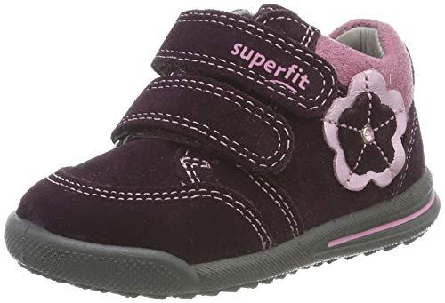 Superfit Baby Mädchen AVRILE MINI Sneaker, Rot 50), 19 EU