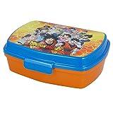 | Dragon Ball | Sandwichera Para Niños Decorada - Fiambrera Infantil | Caja Para El Almuerzo Y Porta Merienda Para Colegio - Lonchera Bola De Dragón