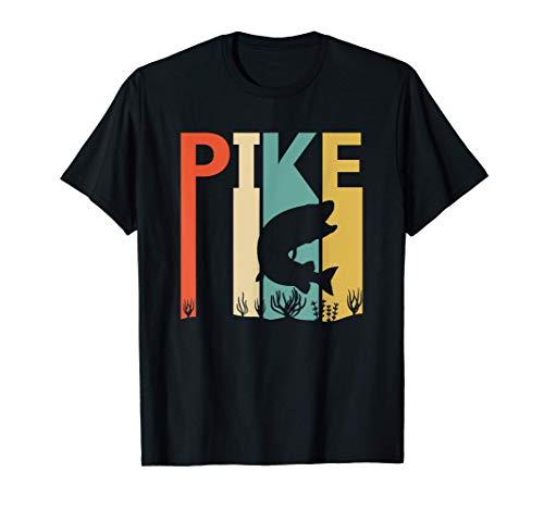 Pike - luccio carino divertente Maglietta