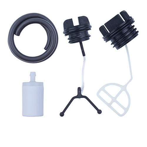 Filter für den Tankdeckel Schlauchleitungsfilter für Husqvarna 50 51 55 136 137 141 142 254 257 262 Kettensäge Teile ersetzen
