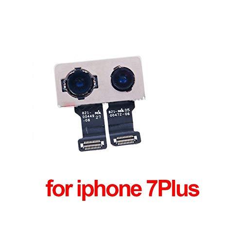 Bullaer, fotocamera posteriore per iPhone 7 Plus, modulo principale della fotocamera, parti di ricambio, schermo sfocato/nero/autofocus per iPhone 7 Plus (iPhone 7 Plus)