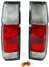 DEPO 1986-1997 Nissan Pickup Truck Red / Clear Tail Light Set