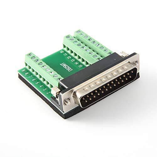 Arnorin DB25 breakout board stekker naar terminalblok 27 pin adapter