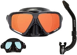 Ocean Ways SeeSharp Mask and Snorkel Combo