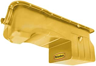 Milodon 31126 Steel, Gold Zinc Plated Street and Strip Oil Pan for Ford 351W