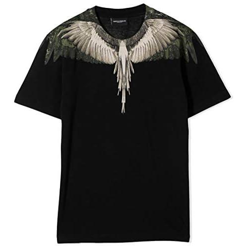 MARCELO BURLON KIDS OF MILAN T-Shirt Camou Wings 14A