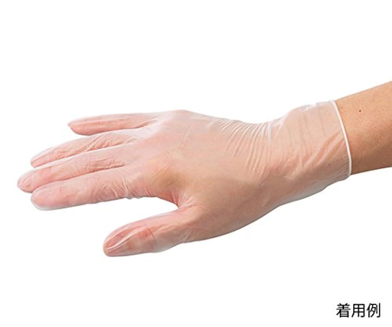 薄暗い噂りんごARメディコム?インク?アジアリミテッド7-3726-02バイタルプラスチック手袋(パウダーフリー)M150枚入
