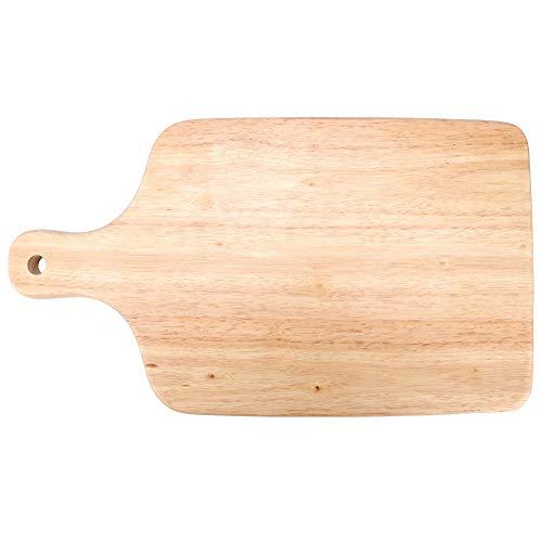 Fdit Houten pizza brood gebak cake snijplank houten pizzasaal schaal pizzaset handvat bakken voor hoofdkeuken gereedschap meerdere toepassingen