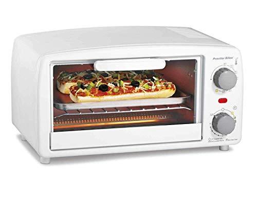 Hamilton Beach 31116Y White Proctor Silex 4 Slice Toaster Oven Broiler