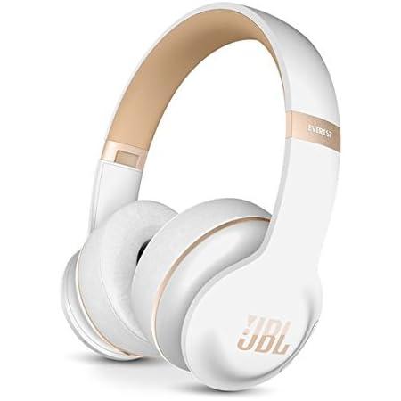 JBL Everest Elite 300 NXTGen Noise-Canceling Bluetooth On-Ear Headphones (White)