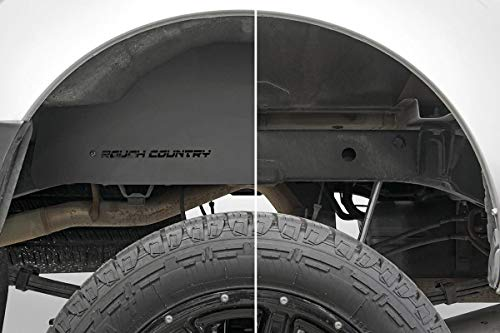 Rough Country Steel Rear Wheel Well Liners (fits) 2005-2020 Frontier | Crew Cab | 4300