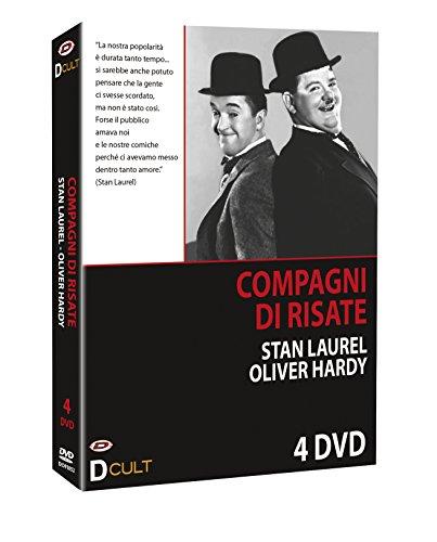 Stanlio & Ollio Compagni Di Risate (Box 4 Dvd)
