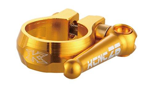 KCNC SC-12 TI QR MTB Seatpost Clamp 34.9mm Bike Gold