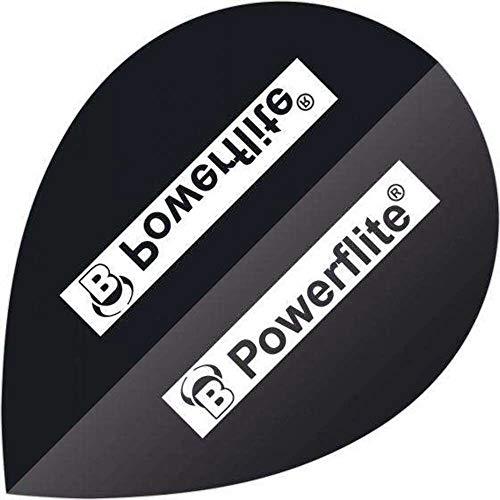 Bull's Powerflite, Pear Dart Flights, 3er Set, Typ:50745