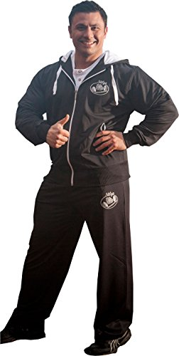 STILYA SPORTSWEAR Hombre chándal culturismo Tracksuit Bodybuilding 6504-5513