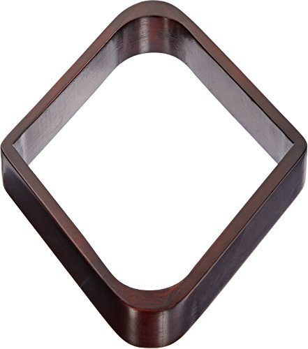 Imperial Billiard/Pool 9-Ball Rack, Hardwood Diamond Fits 2-1/4