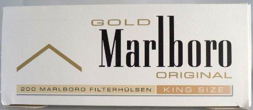 MARLBORO PREMIUM Zigarettenhülsen 200 stk.
