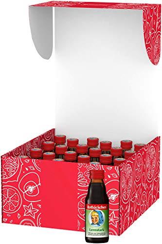 Rotbäckchen Lernstark Mini Mehrfruchtsaft, süß, fruchtig, nach Erdbeere, 125ml (24er Pack)