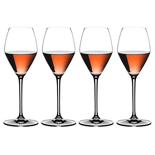 Riedel 4411/55 Extreme Rose/Champagnerglas, 4-teilig, transparent