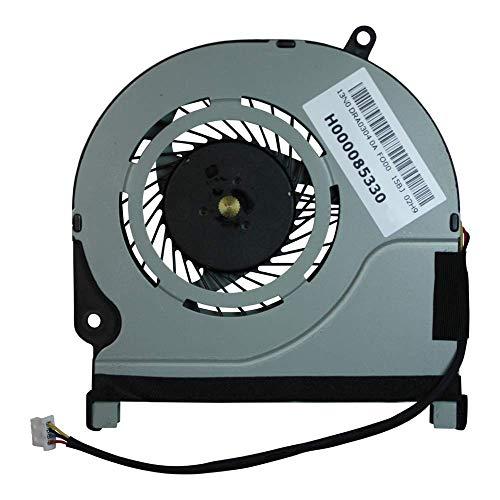 Qinlei Ventilador de refrigeración de CPU de repuesto para Toshiba Satellite E45W-C E45DW-C E45W-C4200 E45W-C4200D E45DW-C4210 E45W-C4200X