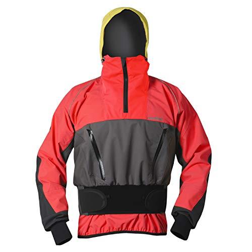 Nookie Heren Storm Touring jas rood grijs JA22 - Ademend waterdicht spatwaterdicht