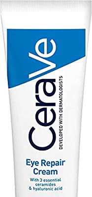 CeraVe Eye Repair Cream | 14 ml/0.5 oz | Eye Cream for Dark Circles & Puffiness from Cerave