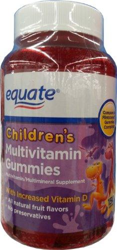 EQUATE CHILDREN'S MULTIVITAMIN GUMMIES 150CT