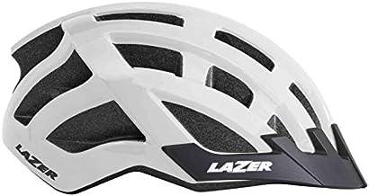 Lazer Casco Compact (Unisize) Ciclismo, Adultos Unisex, Blanco(Blanco), Talla Única