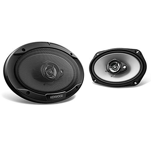 "Kenwood Single DIN Bluetooth Receiver - Kenwood 6.5"" 2-Way Speakers - Kenwood 6x9 3-Way Car Speakers - Enrock 400W 4-Channel Marine/Car Bluetooth Amplifier - Enrock Speaker Wire"