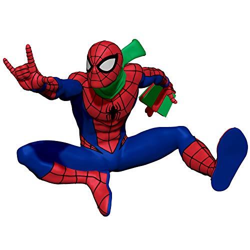 Hallmark Keepsake Christmas Ornament 2020, Marvel Spider-Man Slinging In the Season