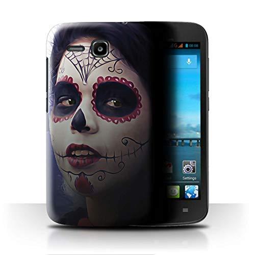 Stuff4® Hülle/Hülle für Huawei Ascend Y600 / Halloween Bilden Muster/Tag Der Toten Festival Kollektion