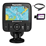 Raymarine E70295-CEUR Dragonfly-5M GPS-Kartenplotter mit CMAP European Essentials Karte 12,7 cm (5 Zoll)