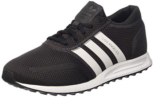 adidas Los Angeles, Unisex-Erwachsene Sneaker, Schwarz (Utiblk/Ftwwht/Cblack), 42 2/3 EU (8.5 UK)