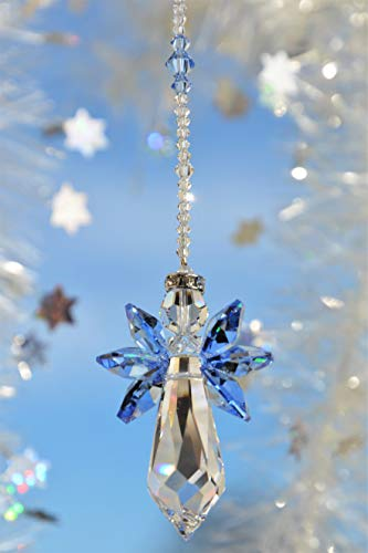 Schutzengel – handgearbeitet aus Kristallen von Swarovski®, Weihnachtsgeschenk