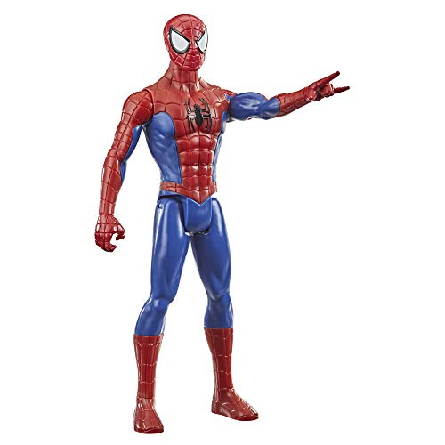Marvel Spider-Man Titan Hero Series Spider-Man Action Figure, 12-Inch-Scale Super Hero Action Figure Toy, For Kids Ages 4 And Up