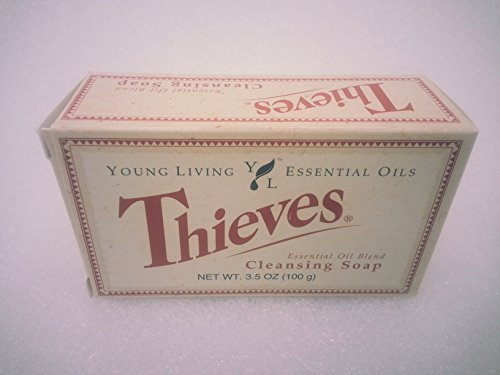 Thieves Essential Oil Cleansing Soap by Young Living Essential Oils - 3.5oz. by Young Living