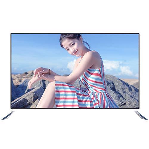 ZZYH Televisor LED Smart 4K Ultra HD De 43 Pulgadas, WiFi Inalámbrico Incorporado, Tecnología De Codificación De Video H265, Reducción De Ruido Digital NDR, TV De Bisel Estrecho